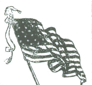 Gallery For > Waving American Flag Drawing  Waving American Flag Outline
